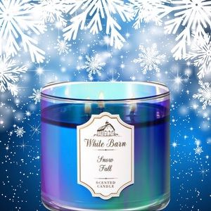 """NEW """"Snow Fall"""" Candle"""